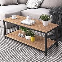 Soges Coffee Table テーブル ローテーブル 木製 オープン収納 リビングテーブル センターテーブル 長方形 幅100cm