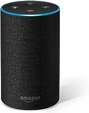 Echo (エコー) - スマートスピーカー with Alexa、チャコール (ファブリック)
