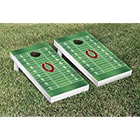 University of Chicago Maroons regulation Cornhole Game Setフットボールフィールドバージョン