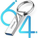 TECLAST USBメモリ 64GB USB3.1 高速 USBメモリ 3.0 フラッシュドライブ 防水 防塵 耐衝撃 亜鉛合金製ボディ 小型 軽量 大容量 フラッシュドライブ USB Type Aコネクター PS4動作確認済 1年保証
