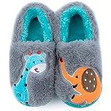 [Git-up] スリッパルームシューズ 子供靴 ノンスリップの軽量エラスティックソール かわいい動物の屋内と屋外の柔らかく快適な幼児用シューズ 4色をご用意 13-17cm