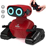 GILOBABY RC Robot Car, 2.4GHz Remote Control Robot Toy for Kids with Shine Eyes, Dance Moves, Boys Girls Toys