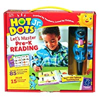 Educational Insights Hot Dots Jr. Let's Master Pre-K Reading Set with Ace Pen 【Creative Arts】 [並行輸入品]