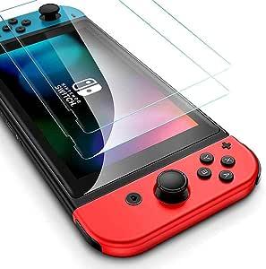 Excitech Nintendo Switch対応 任天堂スイッチ対応 ブルーライトカットガラスフィルム 日本製素材旭硝子仕様モデル