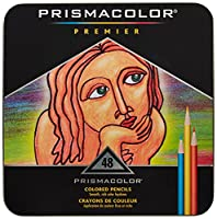 Prismacolor Premier色鉛筆、ソフトコア、48-count withボーナスアクセサリーセット