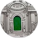 TIFFANY ART NEOCLASSICISM 2 Oz Silver Coin 10$ Palau 2012