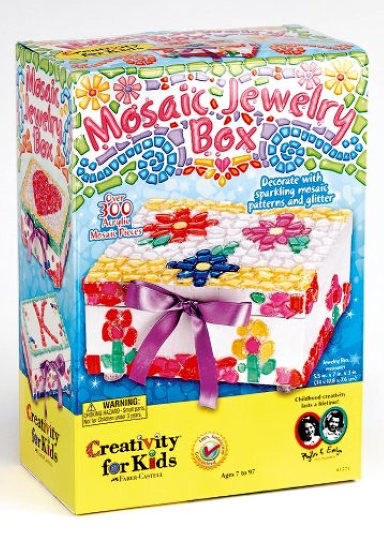Creativity for Kids Mosaic Jewellery Box