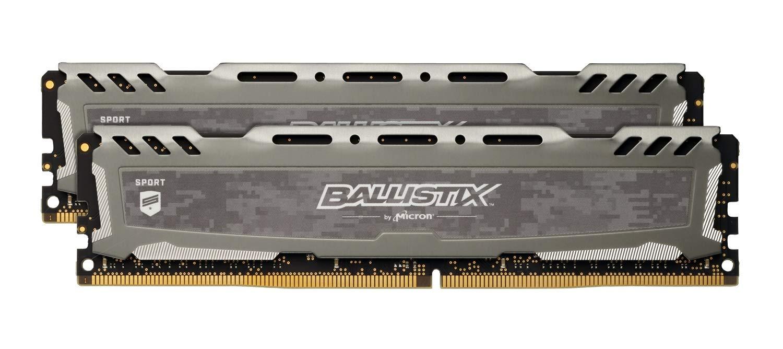 メモリ DDR4 2666 PC4-21300 8GB ×2枚デスクトップPC用 288pin 無期限保証 Crucial by Micron W4U2666BMS-8G