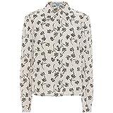 (プラダ) Prada レディース トップス ブラウス・シャツ Printed silk shirt [並行輸入品]