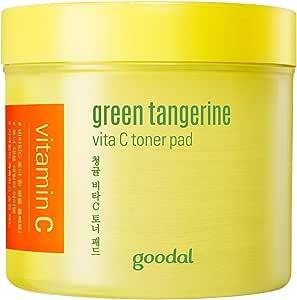 Goodal チョンギュルビタCトナーパッド70枚 Green Tangerine Vita C Toner Pad [並行輸入品]