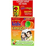 All Natural Kids Cough Multipack, Apple, Orange, Raspberry 0.08 grams