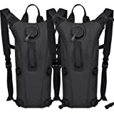 AIMILL Military Leak-Proof Hydration Pack Reservoir Water Bladder Daypack Camel Backpack