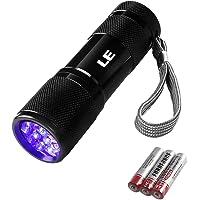 LE ブラックライト led 紫外線 ライト UVライト LED 懐中電灯 アルミ製 高耐久 ハンディ ブラック ライト…