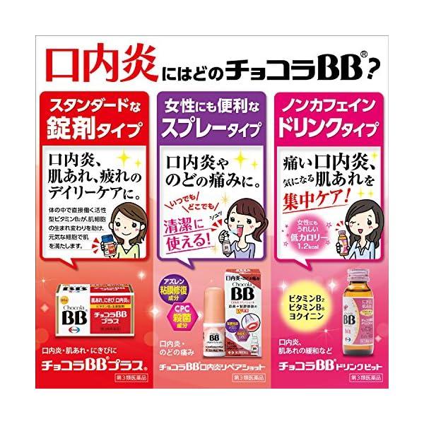 【第3類医薬品】チョコラBBプラス 120錠の紹介画像6