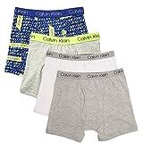 Calvin Klein Boys Underwear 4 Pack Boxer Briefs-Fashion Value Pack
