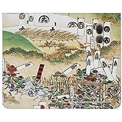 関ヶ原合戦屏風マウスパッド『石田三成・島津義弘』