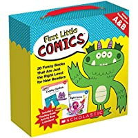 First Little Comics Guided Reading Levels A & B