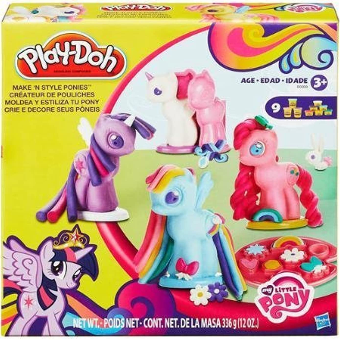 Play-Doh My Little Pony Make 'n Style Ponies, 4 molds to create each type of pony: Earth, Pegasus, Unicorns and Princesses by Illuminations [並行輸入品]