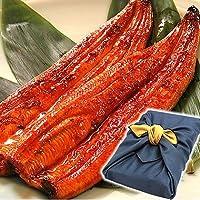 鰻(うなぎ) の特大長蒲焼き2本セット 風呂敷包み