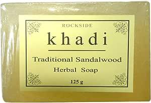 手作り  カーディ サンダルウッド ソープ Khadi Traditional Sandalwood Soap