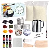 Candle Making Kit Supplies, Shuttle Art Candle Making Kit for Adult, Complete DIY Beginners Set Including 3 LB Soy Wax, 6 Fra