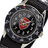 フットボールウォッチ アーセナル クオーツ メンズ 腕時計 GA3713 ブラック [並行輸入品]