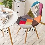 椅子 イームズチェア デザイナーズ リプロダクト パッチワーク PP-623C