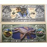 Set of 10 Bills-Dinosaur Million Dollar Bill [並行輸入品]