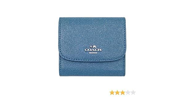 f6d6c87dcd27 Amazon | [コーチ] COACH 財布 (三つ折り財布) F15622 ダークティール SVCEH レザー 三つ折り財布 レディース [ アウトレット品] [並行輸入品] | COACH(コーチ) | 財布