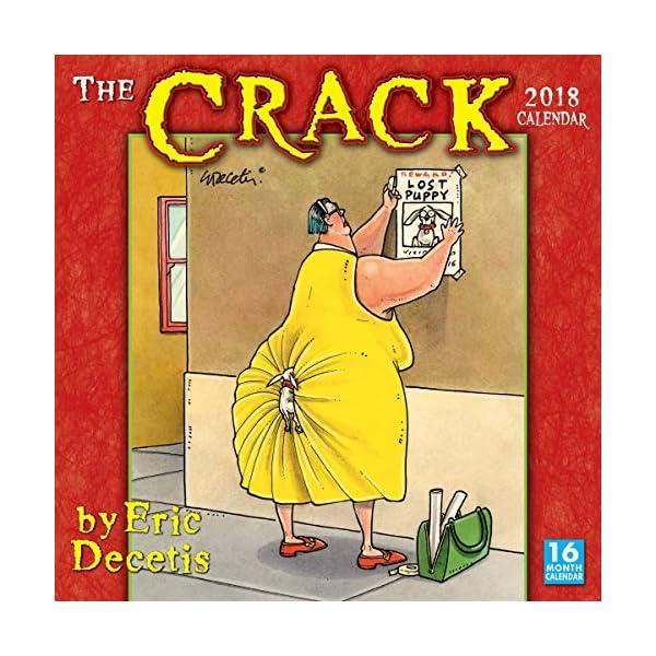 The Crack 2018 Calendarの商品画像