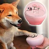 犬 誕生日 プレゼント 肉球グツズ ペットの足型 犬の足型 猫の手形 ギフト 手形 足形 メモリアルグッズ 記念用 メモリアル用品 手型 カップル記念手型 (ピンク)