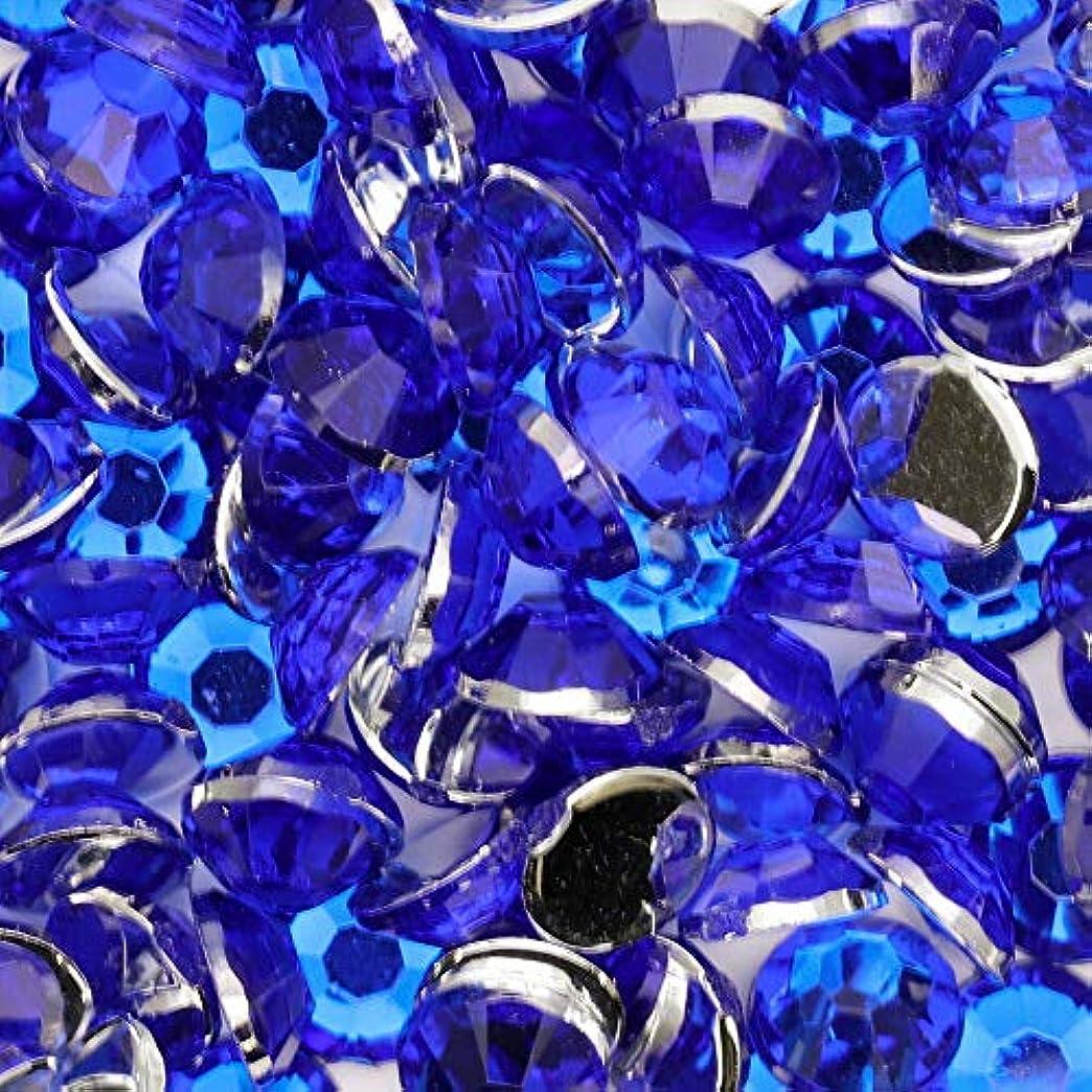 ワーカーネブ計画高級アクリルラインストーン【5mm】【ブルー】