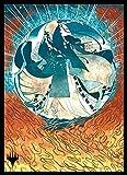 エンスカイ マジック:ザ・ギャザリング プレイヤーズカードスリーブ 『ストリクスヘイヴン:魔法学院』 日本画ミスティカルアーカイブ 《対抗呪文》 MTGS-163