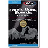 BCW Current Comic Book Backing Boards | White | 25-Count
