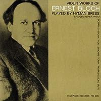 Violin Works of Ernest Bloch