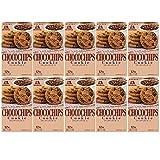 【Amazon.co.jp限定】 森永製菓 チョコチップクッキー12枚 【2BL】 (計10箱入) 1セット