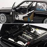 ■【オートアート】(1/18)BMW M3 (E30) DTM プレーンボディ (ブラック)(892475)AUTO art