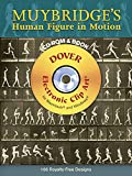 Muybridge's Human Figure in Motion CD-ROM and Book (Dover Electronic Clip Art) 画像