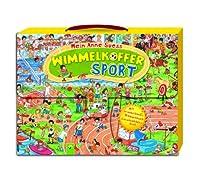 Wimmelkoffer Sport: Mit Wimmelbuch, Mitmachbuch & Geschichtenbuch