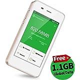 【公式販売】GlocalMe G3 モバイルWiFiルーター simフリー 1.1ギガ分のグローバルデータパック付け 4G高速通信 世界140国・地区以上対応 iPhone・Xperia・Huawei・Galaxy・iPadなど対応 5350mAh充