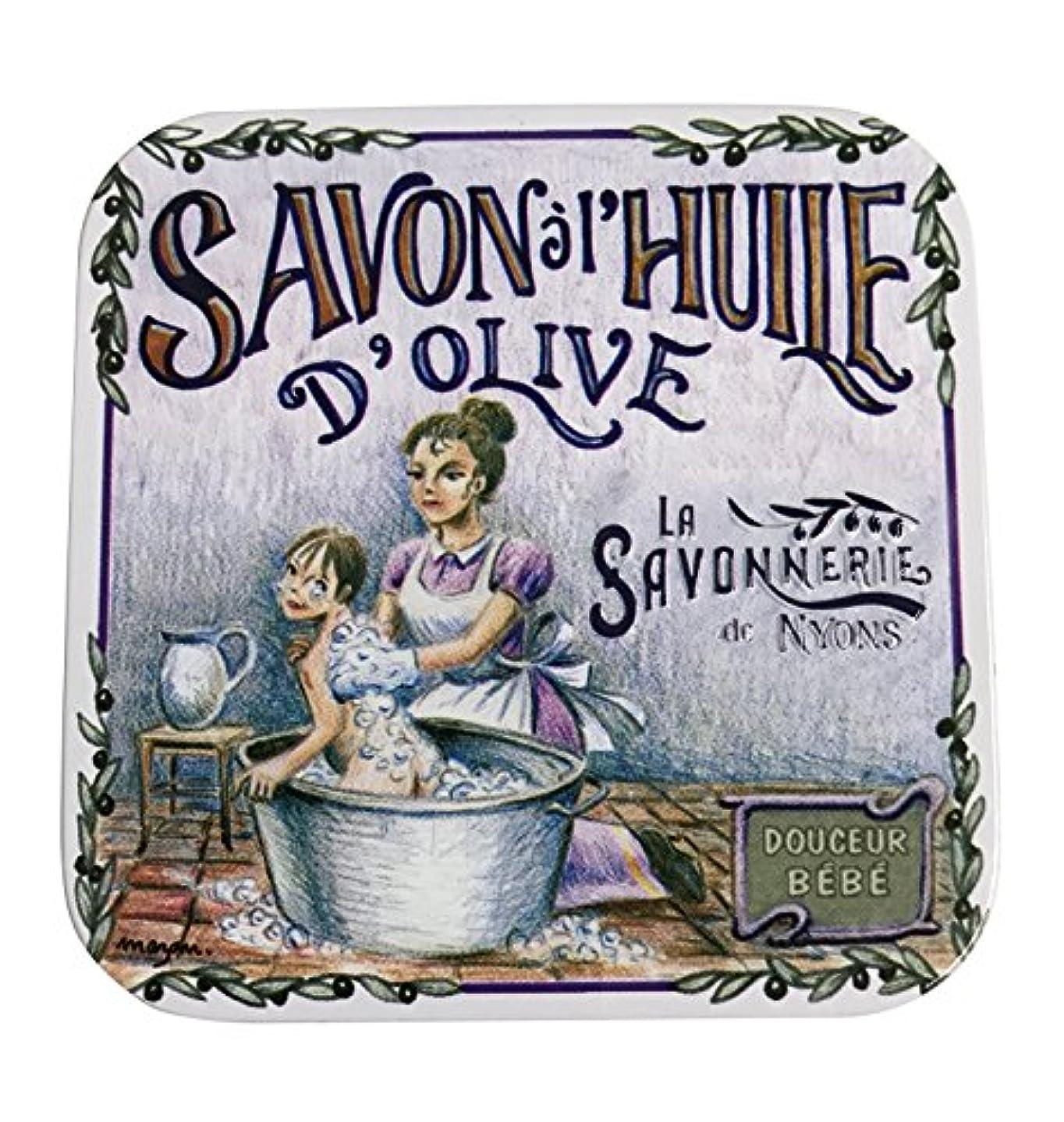重量有用シェフラ?サボネリー アンティーク缶入り石鹸 タイプ100 ハウスワイフ(ローズ)