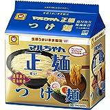 マルちゃん正麺 つけ麺 濃厚魚介醤油豚骨 5P×6個