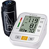 ULTNICE Blood Pressure Device Blood Pressure Measuring Electronic Blood Pressure Meter for Clinic Home (White English No Voic