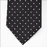 ネクタイ ブランド レノマ ネクタイ (8cm幅) RE30 ブラック/ホワイト [並行輸入品]