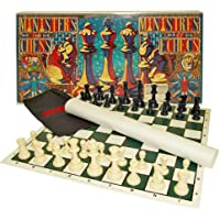 Ministers Chess Set Standard Chess with a Twist - Includes Bonus Deck of Cards!