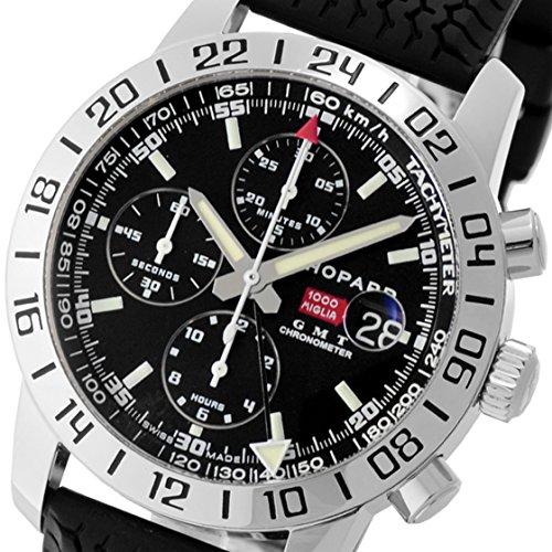 [ショパール] Chopard 腕時計16/8992-3001 ミッレミリアGMT クロノグラフ SS/ラバー ブラック [中古品] [並行輸入品]