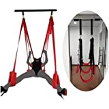 Hold Up to 600 Lbs Couple Šwings Set Sêx Šwivel Šwing for Ǎdult Indoor Activities Easy to Install