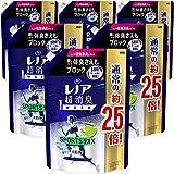 【ケース販売】レノア 超消臭1WEEK 柔軟剤 SPORTSデオX フレッシュシトラスブルー 詰め替え 約2.5倍(980mL)×6袋