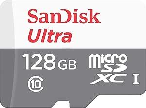 SanDisk microSDXC ULTRA 128GB 80MB/s SDSQUNS-128G Class10 サンディスク [並行輸入品]