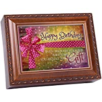 Cottage Garden Happy Birthday Woodgrain Music Musical Jewelry Box Plays Happy Birthday by Cottage Garden [並行輸入品]